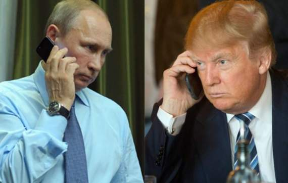 В Сеть просочились подробности телефонного разговора между Трампом и Путиным