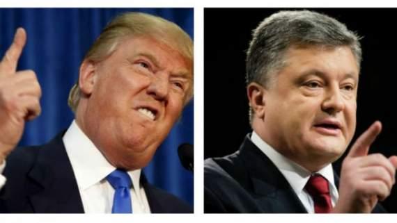 Трамп уже переговорил с Порошенко по телефону и получил назидания от Маккейна