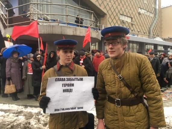 Будни руцкагамира: на РФ поймали обнаженного мента, искавшего в школе Берию