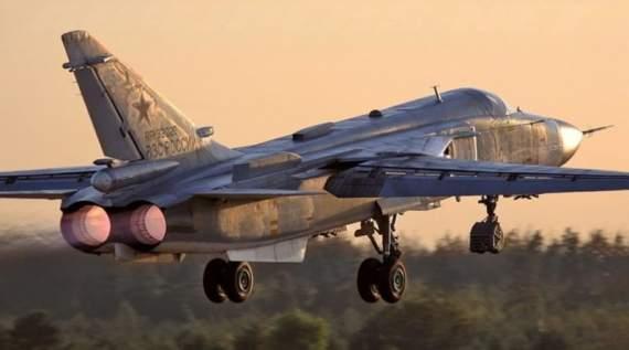 В небе над Донбассом заметили боевой самолет: опубликовано видео
