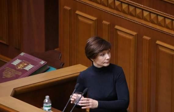 Сепаратистку Бондаренко пустили на заседание Верховной Рады Украины