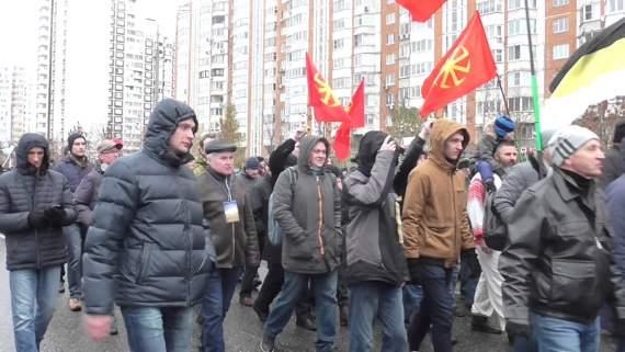 """""""Кто виновник войны? – Путин"""": россияне провели антипутинский марш в Москве. Видео"""