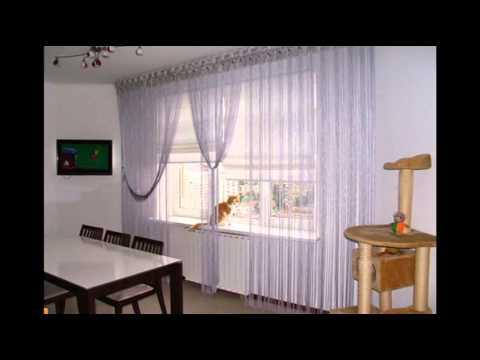 Несколько причин купить шторы нити/кисея