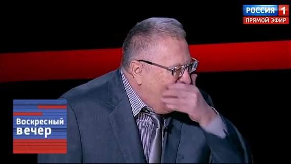 """Очередное дно: клоун Жириновский на росТВ """"порвал зал"""" своим анекдотом (видео)"""