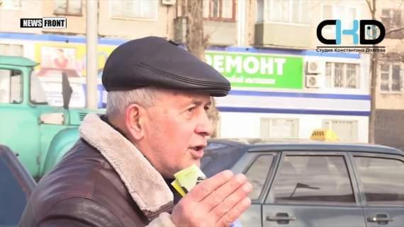 Падлюка он! в Донецке народ смешал Януковича с грязью: ВИДЕО