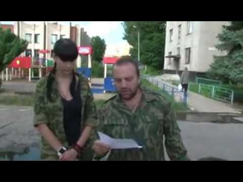 Прокол на РосТВ: жена «Моторолы» с листика репетирует рассказ о преступлениях «хунты». архивное видео