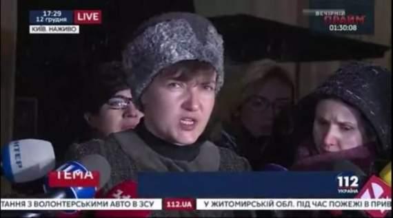 Савченко про зустріч із Плотницьким і Захарченком: Я в них чорта не побачила