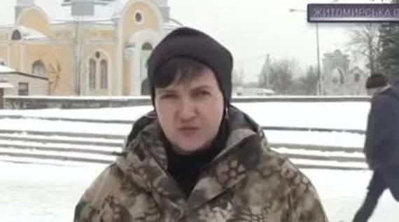Савченко заявила, что ее хотят убить и что Порошенко ни чем не лучше Захарченко и Плотницкого