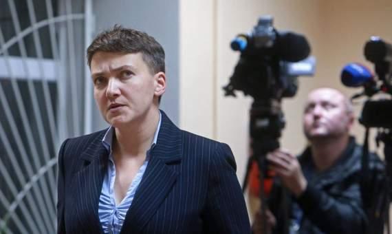 СБУ: Савченко во время допроса назвала боевиков простыми людьми (ВИДЕО)