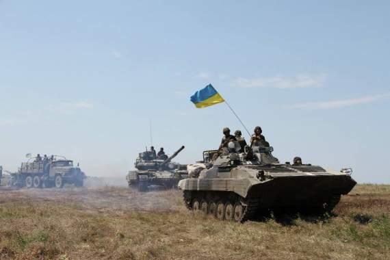 Военные ВСУ приготовились освобождать Донбасс