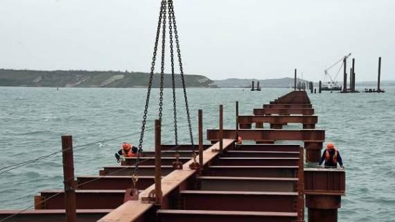 Все отказались от строительства ж/д моста в Крым