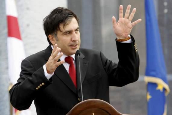 Саакашвілі обізвав Порошенка і його команду баригами (ФОТОФАКТ)