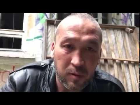 Московский бомж, оказался умнее большинства россиян. Вы только послушайте, что он думает о войне на Донбассе (видео)