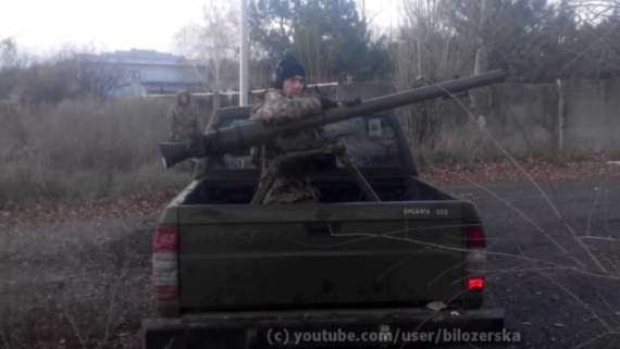 """У Яроша показали, как вместе с ВСУ отправили террористам """"сюрприз"""" (видео)"""