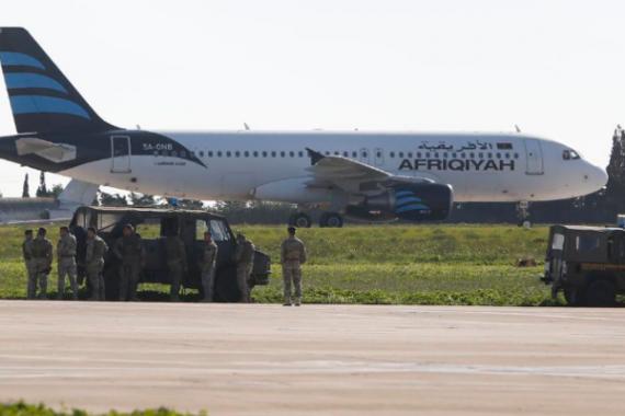 Угон самолета из Ливии: стали известны требования террористов