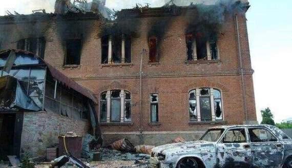 Бойовики ледве не зрівняли з землею 8 селищ на Донбасі