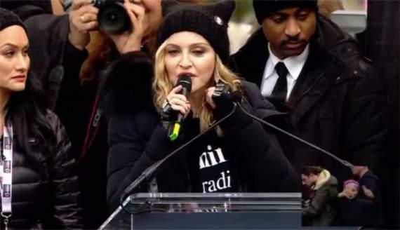 """""""F*ck You!"""" Мадонна обматерила Трампа в прямом эфире CNN (видео)"""
