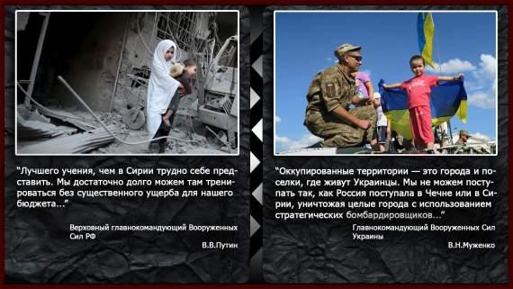 Империя Лжи: «Защита» Русскоязычного Народа Донбасса И «Братская Помощь» Сирийским Гражданам
