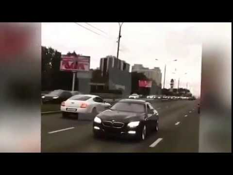 Кортеж из Bentley, Gelendwagen, Cadillac Escalade, Mercedes и BMW – У хозяина Москвы свадьба!