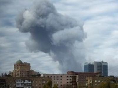 В Донецке экстренная эвакуация: один из районов обстрелян (ФОТО)