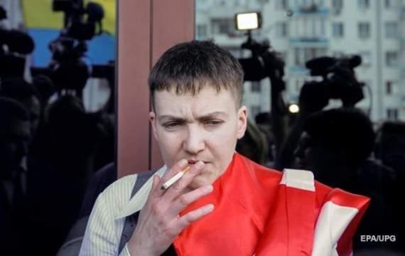 Савченко: «Порошенко – ворог українського народу!»