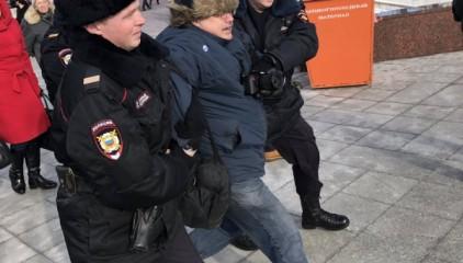"""Что посеешь: боевик """"ДНР"""" устроил драку на месте убийства Немцова"""