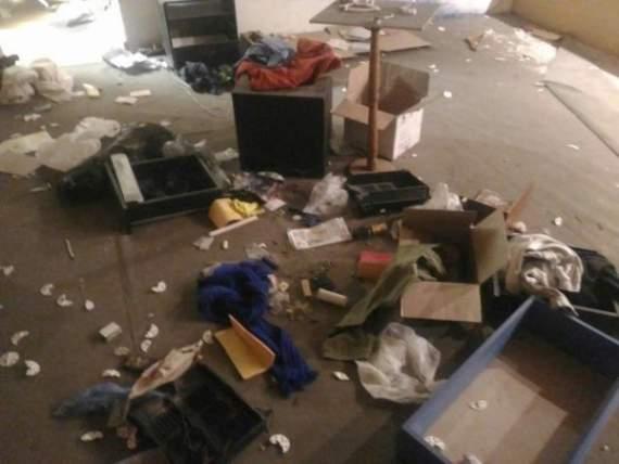 В т.н. музее новоотброссии в Петербурге очередной погром