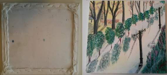 Картину відомого російського художника Олексія Зіміна намагалися вивезти в Нью-Йорк