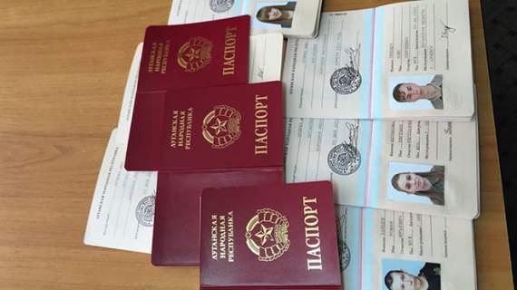 Росія визнала документи «ДНР» та «ЛНР»