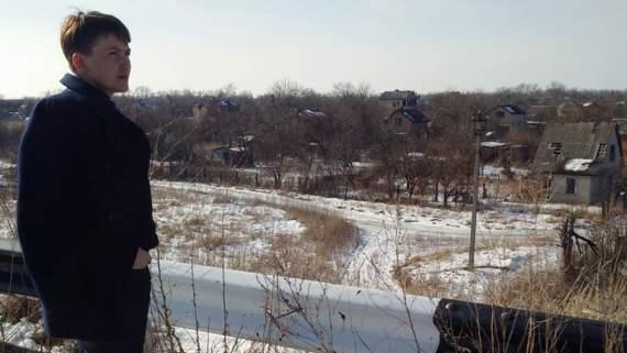 Опубликовано видео встречи Савченко с украинскими пленными