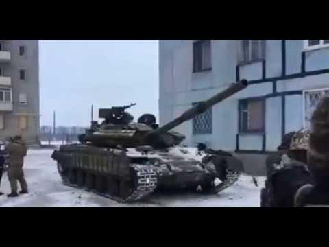 Вот они красавцы!  Украинские танки вошли в Авдеевку (ВИДЕО)