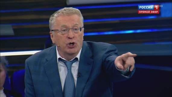 «Заменю Путина и уничтожу Украину»: Жириновский снова «отжег» на КремльТВ