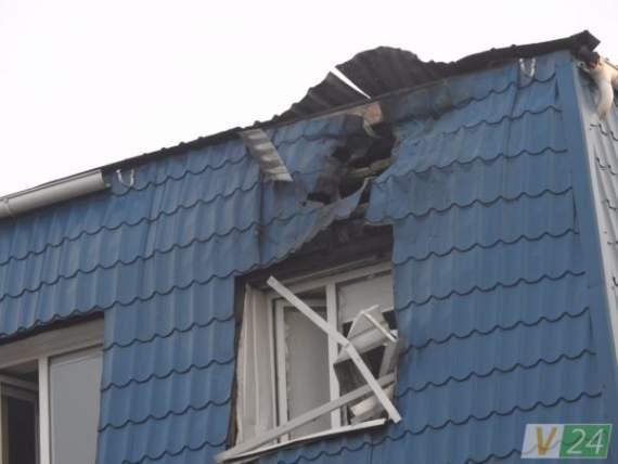 В Луцке обстреляли Генконсульство Польши (фото)