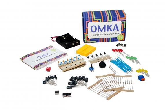 Детский конструктор ОМКА: наука – это весело