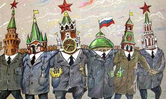 """Внешнеполитический стиль управления """"Раша"""""""