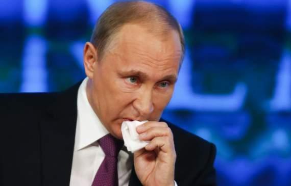 В Кремле утверждают, что Путин смертельно болен