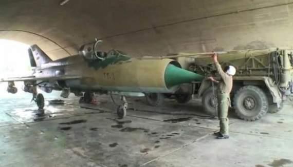 На турецко-сирийской границе уничтожен советский МиГ-23 асадовцев