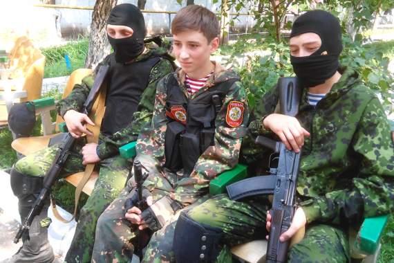 В ДНР вербуют детей в ряды боевиков
