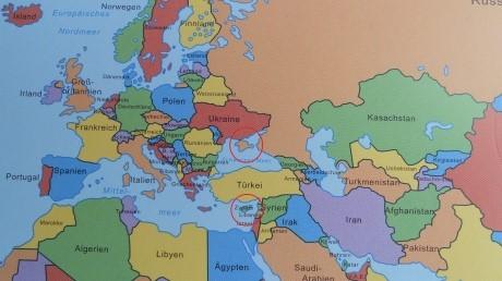 В немецких учебниках изобразили Крым как часть России