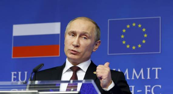 "Путин позабавил жалобой на Грибаускайте: ""Она на меня гонит"""