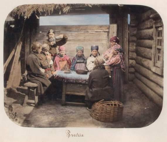 Русская деревня конца XIX века: хлеб, щи и отсутствие бани