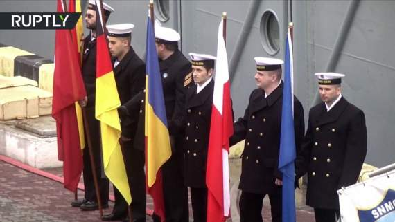 Путин наложил в штаны, Корабли НАТО уже в Одессе! (видео)