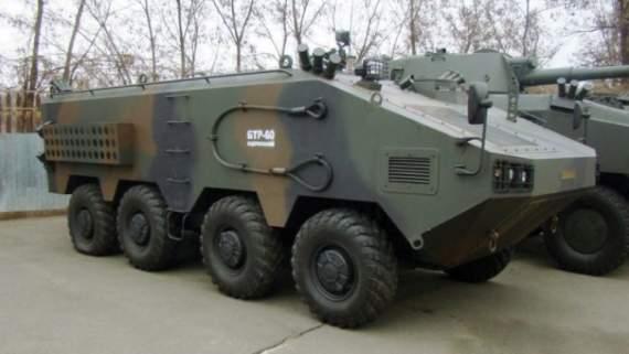 Украинская компания «Практика» показала модернизированый БТР-60