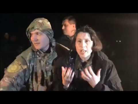 Тане Черновол начистили морду лица и забросали яйцами /Видео 18+/