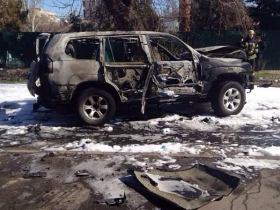 Полковник СБУ погиб в результате взрыва в Мариуполе