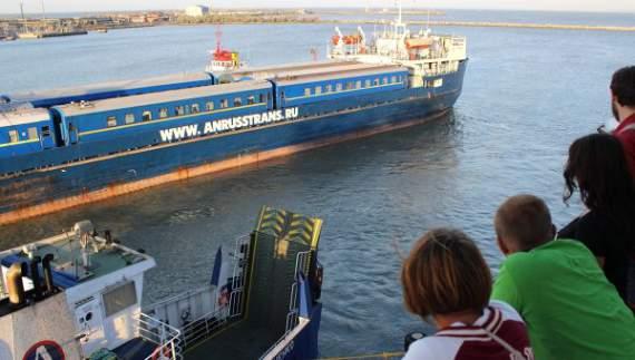 В районе Керченской переправы потерпело крушение российское судно