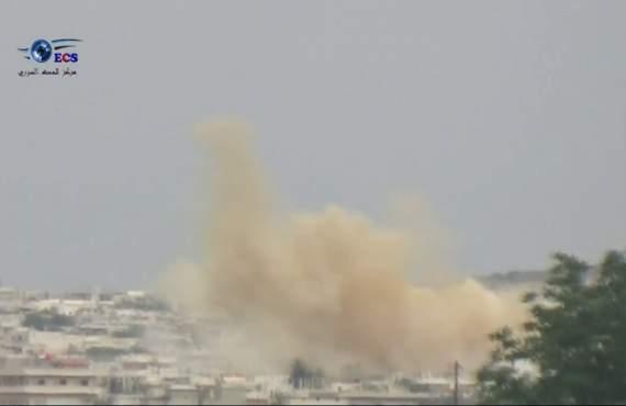 В Сирии произошла новая химическая атака (видео)