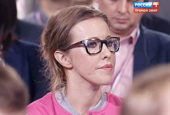 Ксения Собчак – Путину: они совершили массовое убийство у вас дома