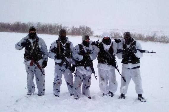 Російський спецназ на Донбасі