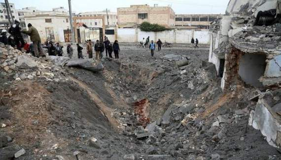 Россия сбросила вакуумные бомбы на Идлиб, семеро мирных погибших, в т.ч. ребенок